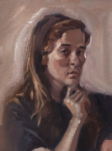 oil_self portrait2