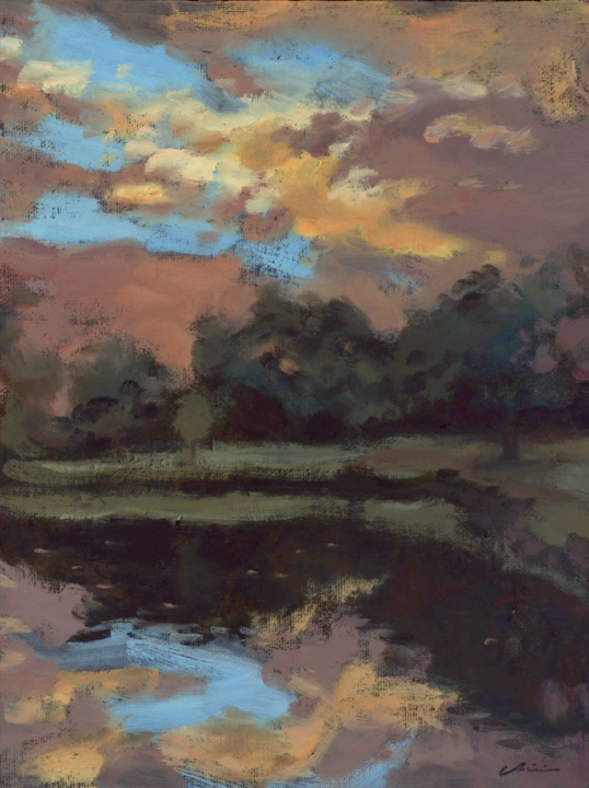 duckpond_sunset_pleinair_june15