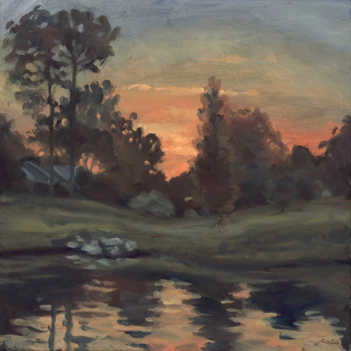 pleinair_duckpondsunrise_june15